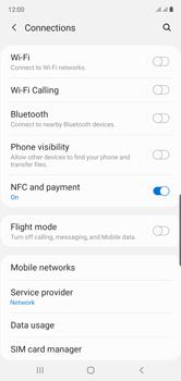 Samsung Galaxy Note 10 - Internet and data roaming - Disabling data roaming - Step 5