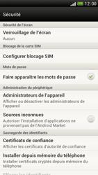 HTC One S - Sécuriser votre mobile - Personnaliser le code PIN de votre carte SIM - Étape 5