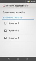 Sony D2005 Xperia E1 - Contactgegevens overzetten - delen via Bluetooth - Stap 11