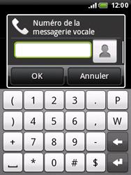 HTC A3333 Wildfire - Messagerie vocale - configuration manuelle - Étape 7