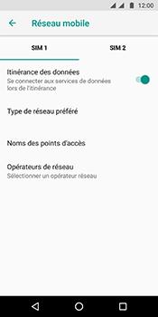 Motorola Moto G6 - Aller plus loin - Désactiver les données à l'étranger - Étape 6
