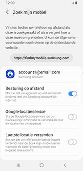 Samsung Galaxy S9 Android Pie - Toestel - stel Zoek mijn mobiel in - Stap 7