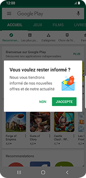 Samsung Galaxy S9 Android Pie - Applications - Créer un compte - Étape 20