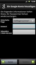 Sony Ericsson Xperia X10 - Apps - Konto anlegen und einrichten - Schritt 11