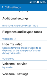 Samsung G388F Galaxy Xcover 3 - Voicemail - Manual configuration - Step 7