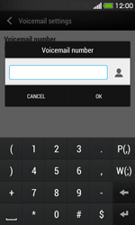 HTC Desire 500 - Voicemail - Manual configuration - Step 7