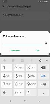 Samsung galaxy-a7-dual-sim-sm-a750fn-android-pie - Voicemail - Handmatig instellen - Stap 10