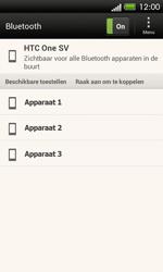 HTC C525u One SV - bluetooth - headset, carkit verbinding - stap 8