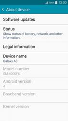 Samsung A300FU Galaxy A3 - Device - Software update - Step 6