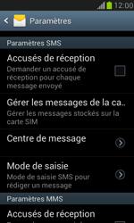 Samsung I8190 Galaxy S III Mini - SMS - configuration manuelle - Étape 5