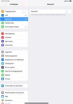 Apple ipad-pro-11-inch-2018-model-a1934 - Bluetooth - Aanzetten - Stap 3