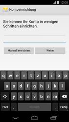 LG D821 Google Nexus 5 - E-Mail - Konto einrichten - Schritt 6