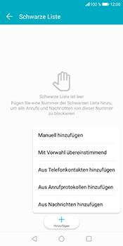 Huawei Honor 9 Lite - Anrufe - Anrufe blockieren - Schritt 8