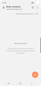 Samsung Galaxy S10e - E-mail - 032c. Email wizard - Outlook - Étape 14