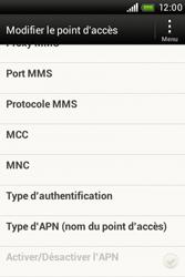 HTC A320e Desire C - Internet - configuration manuelle - Étape 13