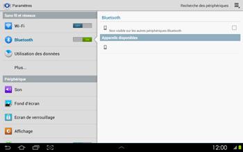Samsung P5100 Galaxy Tab 2 10-1 - Bluetooth - connexion Bluetooth - Étape 8