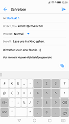 Huawei P8 Lite 2017 - E-Mail - E-Mail versenden - Schritt 11
