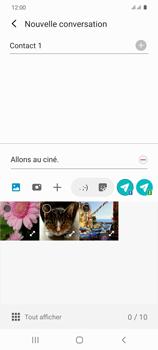 Samsung Galaxy S20 - Contact, Appels, SMS/MMS - Envoyer un MMS - Étape 15