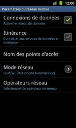 Samsung I8530 Galaxy Beam - Internet - configuration manuelle - Étape 7