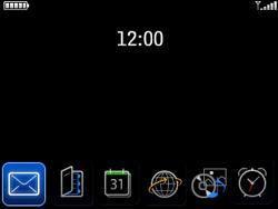 BlackBerry 8520 Curve - e-mail - wordt niet ondersteund - stap 1