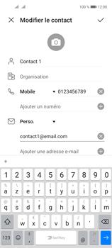 Huawei P40 Lite 5G - Contact, Appels, SMS/MMS - Ajouter un contact - Étape 10