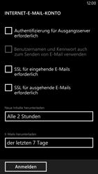 Nokia Lumia 1320 - E-Mail - Konto einrichten - Schritt 18