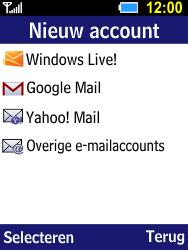 Samsung Xcover 550 (B550H) - E-mail - Account instellen (IMAP met SMTP-verificatie) - Stap 5