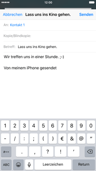 Apple iPhone 6s Plus - E-Mail - E-Mail versenden - 8 / 16