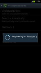 Samsung I9300 Galaxy S III - Network - Manually select a network - Step 10