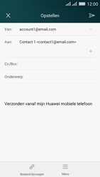 Huawei Y635 Dual SIM - E-mail - E-mails verzenden - Stap 9