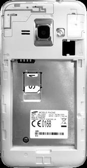 Samsung Galaxy J1 (2016) - SIM-Karte - Einlegen - 5 / 8