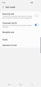 Samsung Galaxy S10 - Internet e roaming dati - Disattivazione del roaming dati - Fase 7