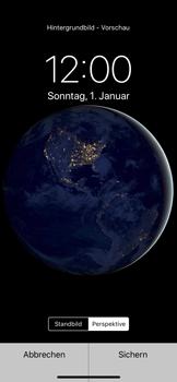 Apple iPhone X - iOS 11 - Hintergrund - 7 / 9