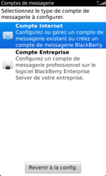 BlackBerry 9860 Torch - E-mail - configuration manuelle - Étape 6