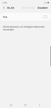 Samsung Galaxy Note 10 - WiFi - WiFi-Konfiguration - Schritt 6