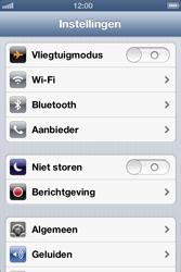 Apple iPhone 4 (iOS 6) - netwerk en bereik - gebruik in binnen- en buitenland - stap 3