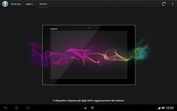 Sony Xperia Tablet Z LTE - Software - Installazione degli aggiornamenti software - Fase 9