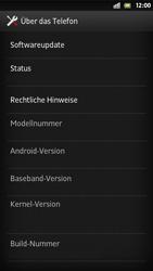 Sony Xperia S - Software - Installieren von Software-Updates - Schritt 6