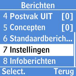 Samsung GT-E1200i - SMS - Handmatig instellen - Stap 4