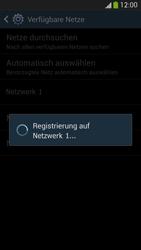 Samsung Galaxy S 4 LTE - Netzwerk - Manuelle Netzwerkwahl - Schritt 9