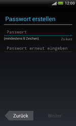 HTC Desire X - Apps - Konto anlegen und einrichten - 8 / 18