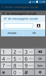 Samsung J100H Galaxy J1 - Messagerie vocale - Configuration manuelle - Étape 9