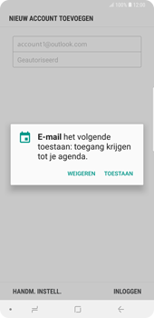 Samsung Galaxy Note9 - E-mail - handmatig instellen (outlook) - Stap 11
