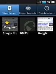 Samsung S5570 Galaxy Mini - Internet - internetten - Stap 10