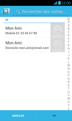 Bouygues Telecom Bs 401 - Contact, Appels, SMS/MMS - Envoyer un SMS - Étape 6