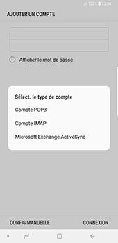 Samsung Galaxy Note9 - E-mail - Configuration manuelle - Étape 10