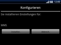 Sony Ericsson Xperia X10 Mini Pro - MMS - Automatische Konfiguration - Schritt 6
