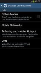 Samsung Galaxy S 4 Mini LTE - Internet und Datenroaming - Deaktivieren von Datenroaming - Schritt 5