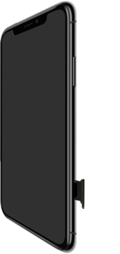 Apple iPhone XR - Appareil - comment insérer une carte SIM - Étape 3