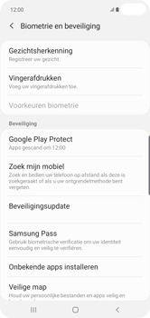 Samsung Galaxy S10 Plus - Beveiliging en privacy - zoek mijn mobiel activeren - Stap 5